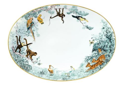 Carnets D'Equateur Medium Oval Platter