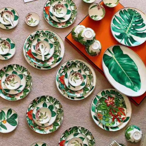 Hermes Passifolia 53 pieces Tableware