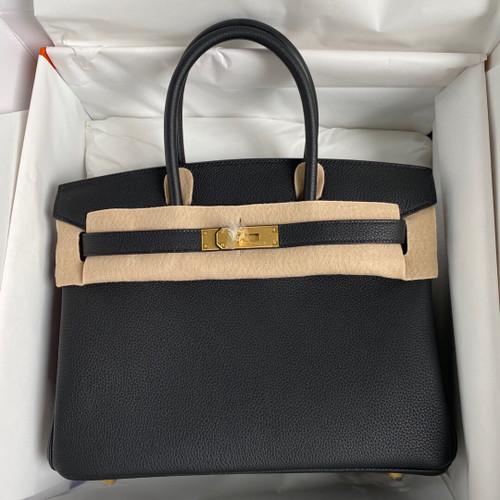 Hermès Birkin 30 cm Togo Leather Gold Hardware 2020