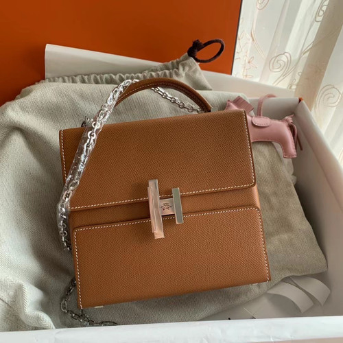 Hermes Cinhetic bag Gold