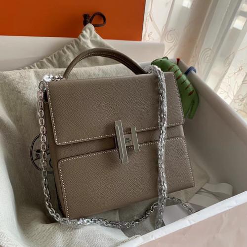 Hermes Cinhetic bag Etoupe