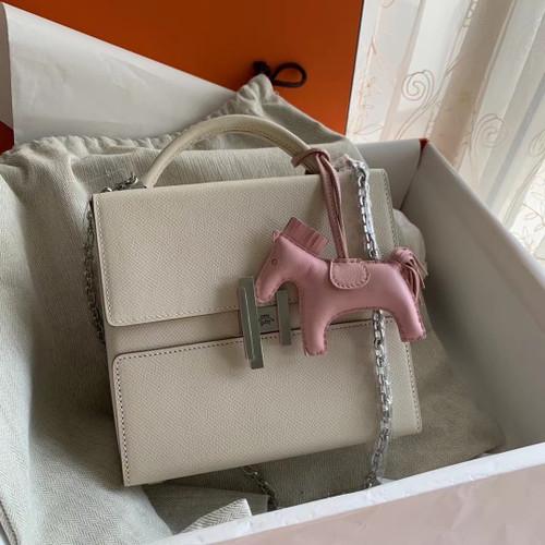 Hermes Cinhetic bag Craie