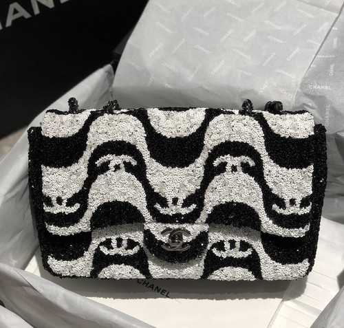 Chanel Limited Edition Sequins FLAP BAG 2021