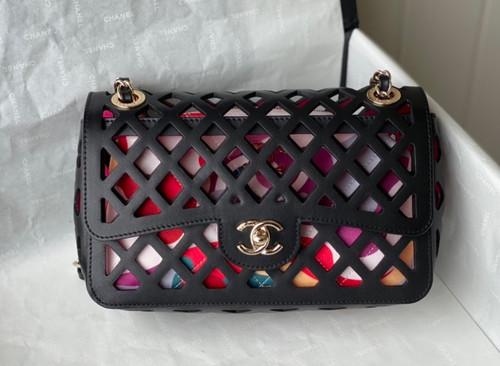 Chanel FLAP BAG AS2370 Black