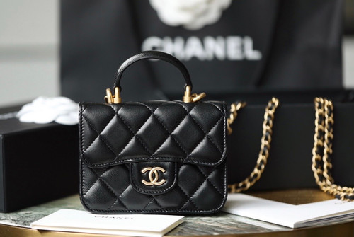 Chanel FLAP COIN PURSE WITH CHAIN