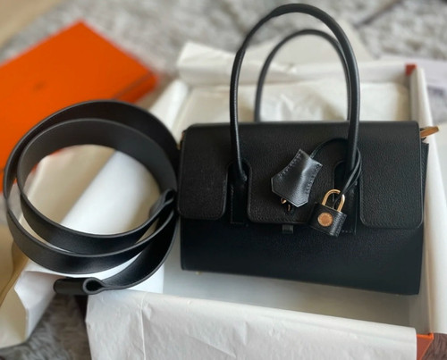 HERMES New Drag 22 Bag Black