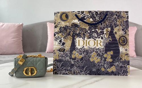 Christian Dior MICRO DIOR CARO BAG Cloud Blue