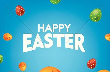 blue-happy-easter-card-with-colorful-clip-art-k66381399.jpg