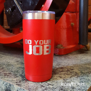 Polar Camel Insulated Mug - Patriots DO YOUR JOB or Red Sox Championship Insulated Mug - featuring all championship years.