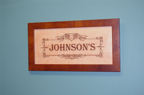 Wedding Gift, Anniversary Gift - Personalized Leather Anniversary Sign, Wedding Sign, Engraved Leather, Wine Sign, 3rd Anniversary