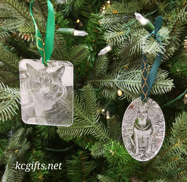 Personalized Christmas Ornament with your favorite photo - First Christmas Together - Baby's First Christmas - Pet Ornament