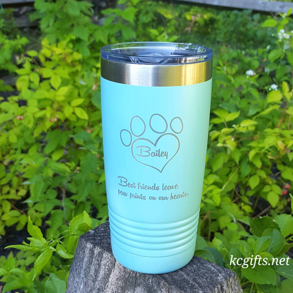 Polar Camel Insulated Mug - Pet Lovers Personalized Engraved Polar Camel YETI Clone  - Engraved with your Dog, Cat, Horse or any other favorite pet name.