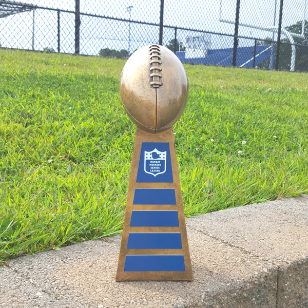 """Football Trophy """"The Lombardi"""" for Fantasy Football and Youth Leagues"""