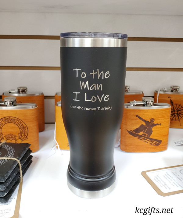 Polar Camel Insulated Mug - For Husband or Boyfriend -  the reason you drink.