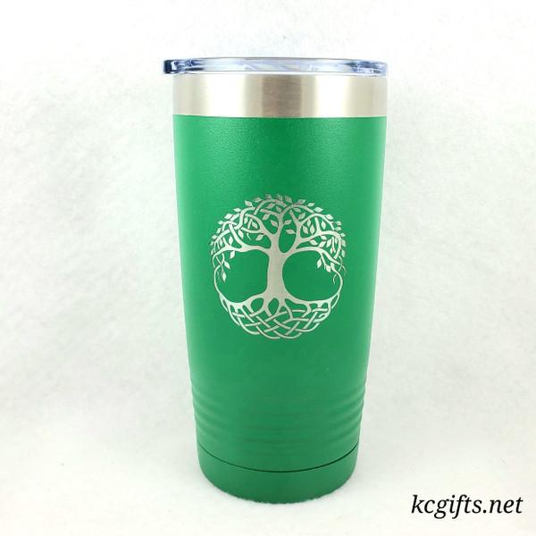 Polar Camel Insulated Mug - Celtic Tree of Life