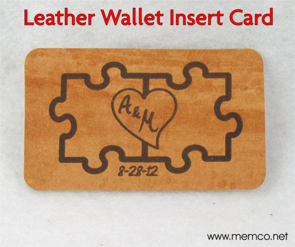 Love Note Leather Wallet Note Card - Anniversary Gift for Men or Women - Third Anniversary ...  sc 1 st  Killorglin Creations & Love Note Leather Wallet Note Card - Anniversary Gift for Men or ...