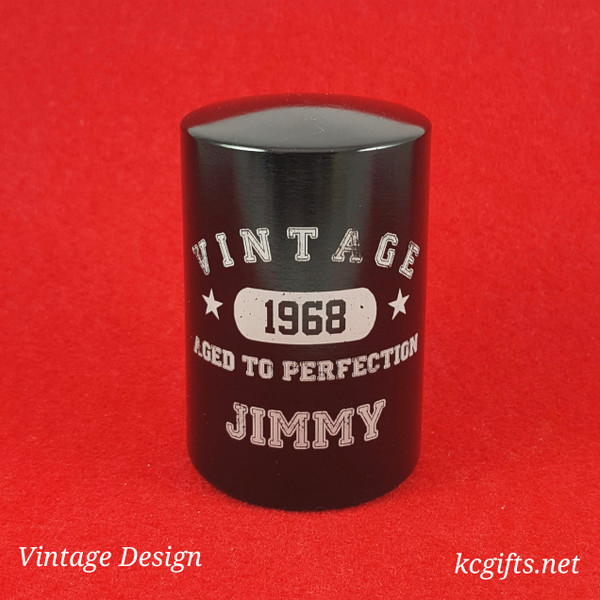 Automatic Bottle Opener - VINTAGE DESIGN - for any special birthday.
