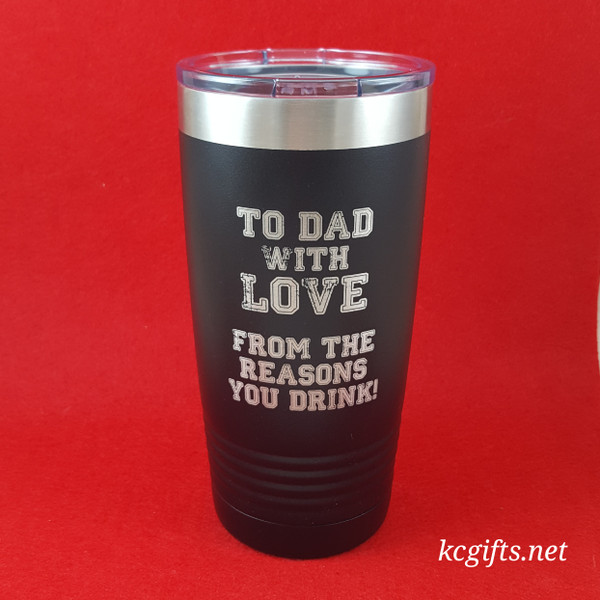 Polar Camel Insulated Mug - For Dad from the Reason He Drinks - Gift for Dad