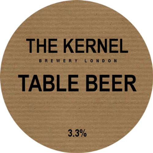 The Kernel - Table Beer (Pint)