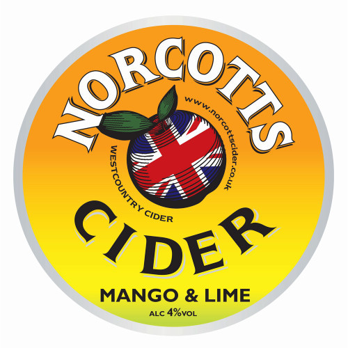 Norcotts - Mango & Lime Cider (Pint)