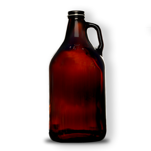 CRAFTYS - 64oz Glass Growler