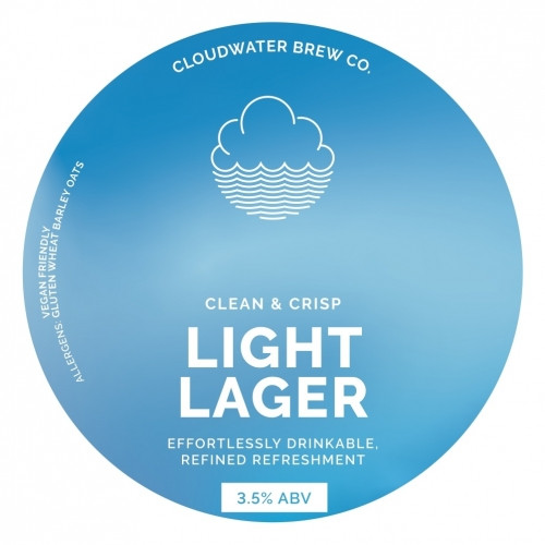 Cloudwater - Light Lager (Pint)