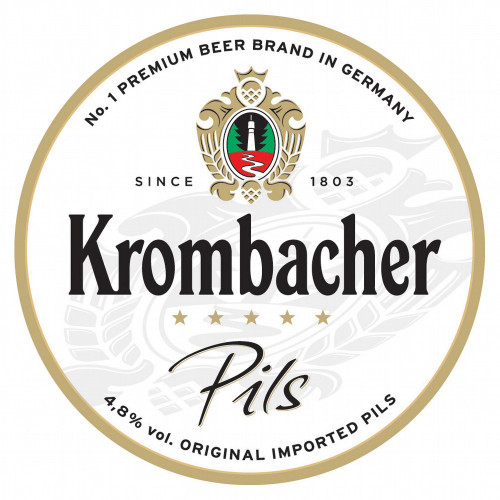 Krombacher Pils & Glass Growler Combo