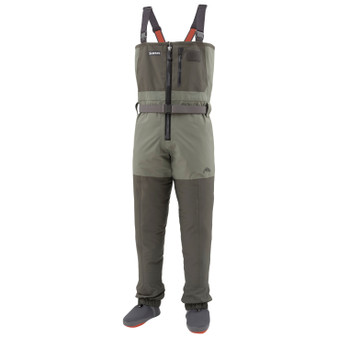 Simms Freestone Z Stockingfoot Wader Dark Gunmetal Image 1
