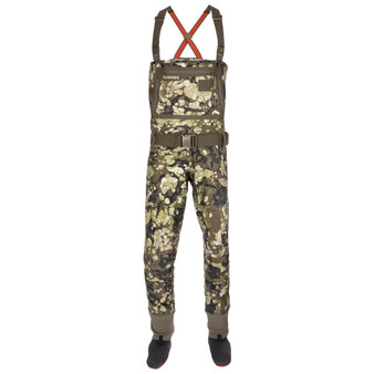 Simms G3 Guide Stockingfoot Wader Riparian Camo Image 1