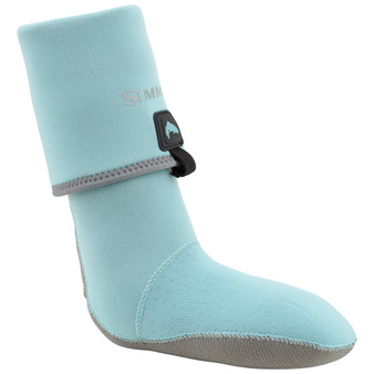 Simms Womens Guide Guard Sock Aqua Image 1