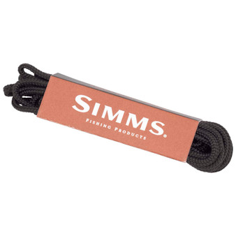 Simms Replacement Laces Black Image 1