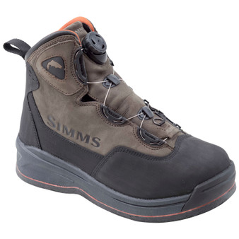 Simms Headwaters Boa Boot Felt Dark Olive Image 1