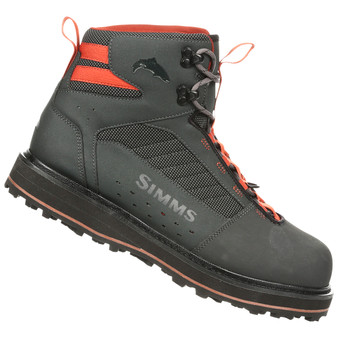 Simms Tributary Boot Rubber Carbon Image 1