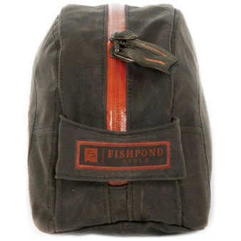 Fishpond Cabin Creek Toiletry Kit Peat Moss Image 1