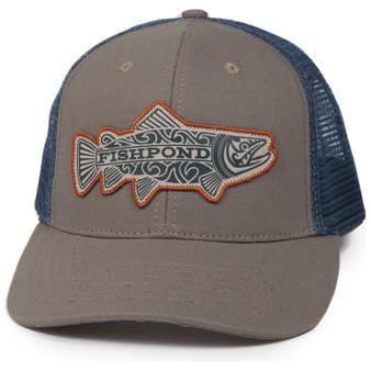 Fishpond Maori Trout Trucker Hat Sandstone Slate Image 1