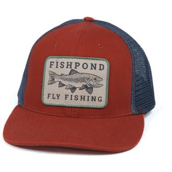 Fishpond Las Pampas Trucker Hat Redrock Slate Image 1