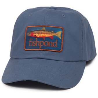 Fishpond Lecoqelton Trout Full Back Hat Fishpond Blue Image 1