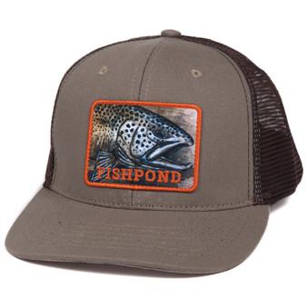 Fishpond Slab Trucker Hat Sandstone Brown Image 1