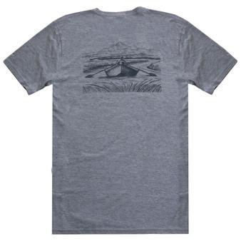 Fishpond Drifter SS T Shirt Granite Image 1