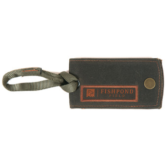 Fishpond Fp Field Luggage Tag Peat Moss Image 1