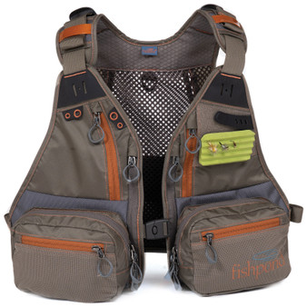 Fishpond Tenderfoot Youth Vest Gravel Image 1