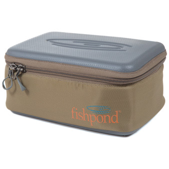 Fishpond Ripple Reel Case Sand Saddle Brown Large Image 1
