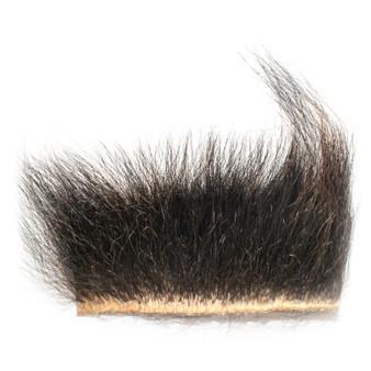 Wapsi Black Bear Fur Natural Image 1
