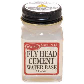 Wapsi Water Based Fly Head Cement Image 1