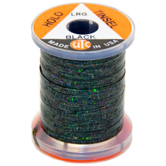 Utc Holographic Tinsel Black Image 1
