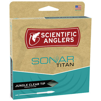 Scientific Anglers Amplitude Sonar Jungle Titan Taper Clear Tip Image 1
