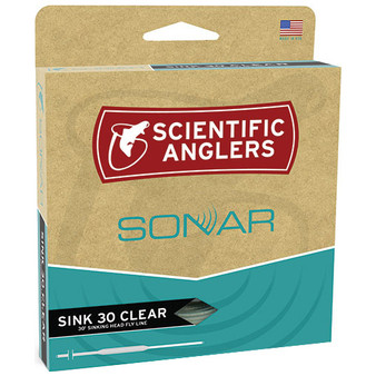 Scientific Anglers Amplitude Sonar Sink 30 Clear Tip Image 1