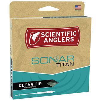 Scientific Anglers Amplitude Sonar Tropical Titan Taper Clear Tip Image 1