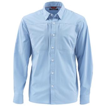 Simms Albie LS Shirt Faded Denim Image 1