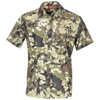 Simms Double Haul SS Shirt Riparian Camo Image 1